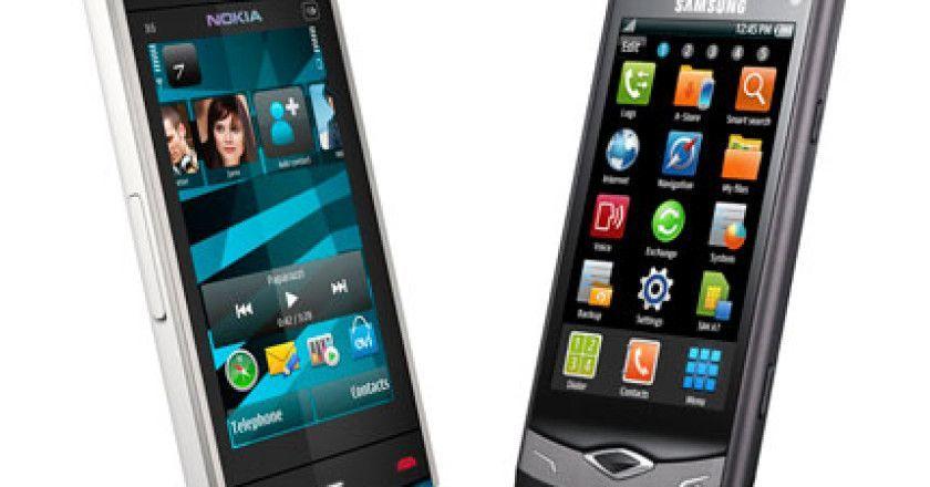 NokiaX6vsSamsungWave