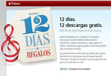 12 Días de Regalos de iTunes
