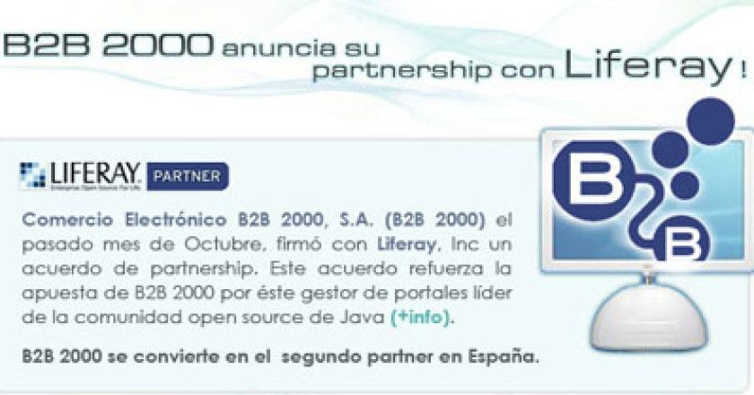 b2b 2000 y Liferay
