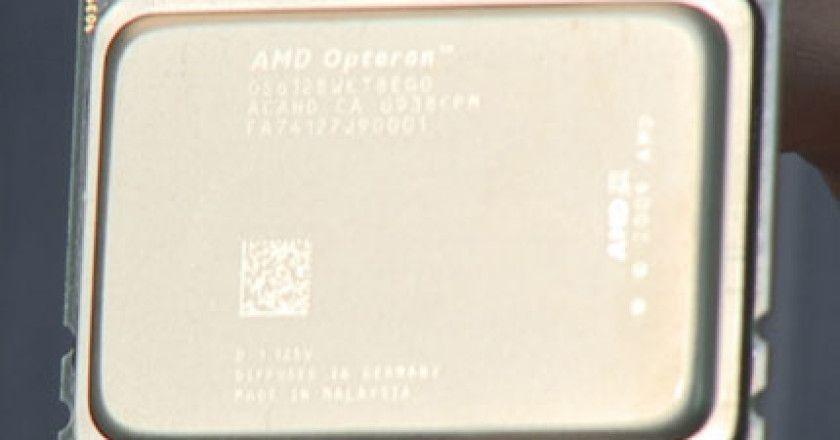 Nuevos procesadores de la familia AMD Opteron