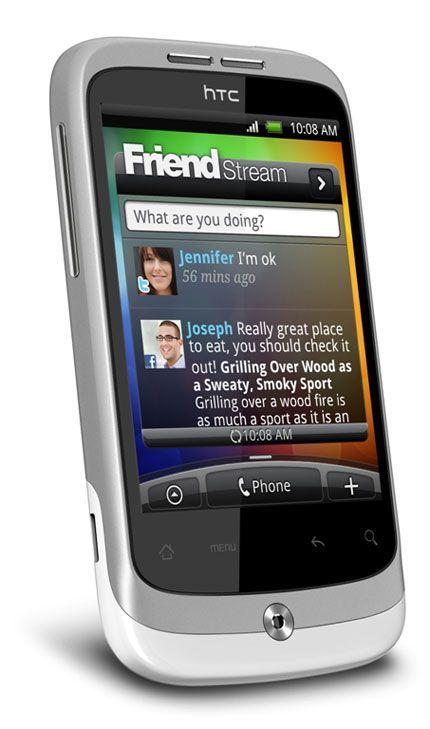 HTC Wildifire blanco
