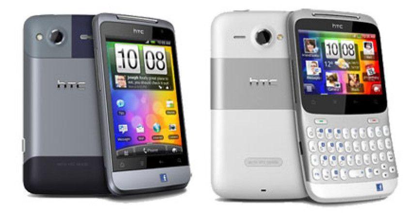 HTC Chacha y Salsa
