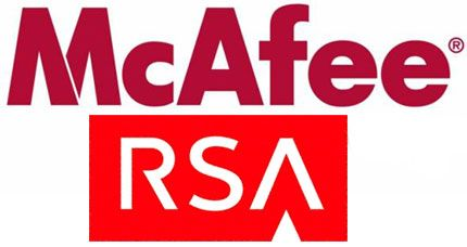 Mcafee y RSA