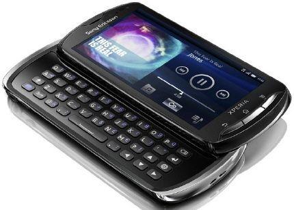 Sony Ericsson Xperia Pro, sólo para profesionales