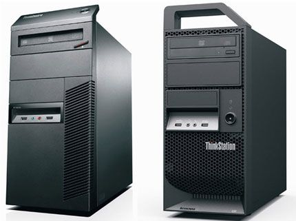 Lenovo ThinkStation E30 y ThinkCentre M81