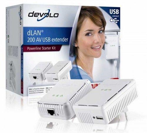 Devolo dLAN 200 AV USB extender.