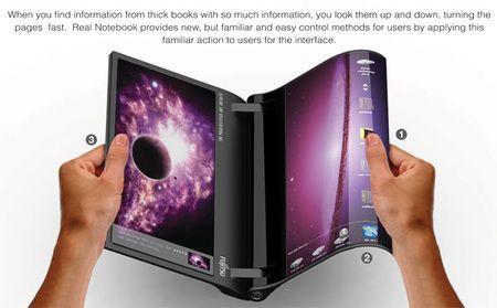 El portátil del futuro según Fujitsu