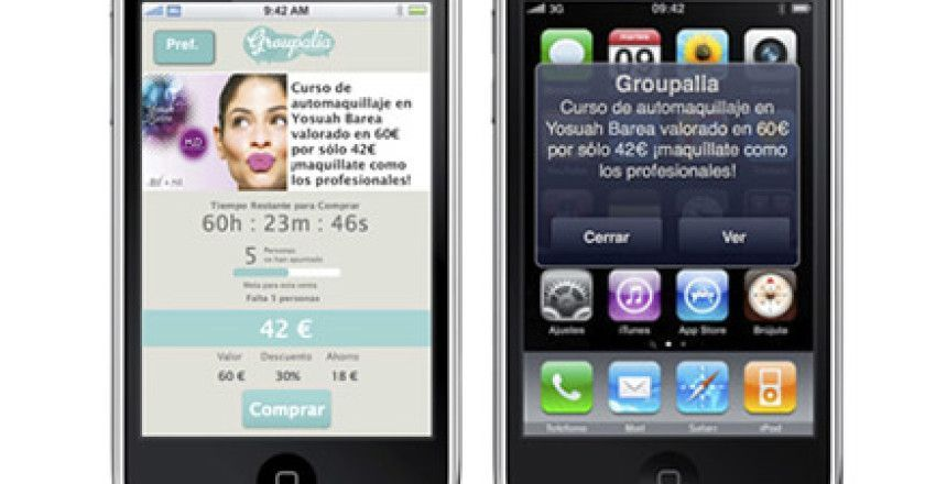 Groupalia para iPhone