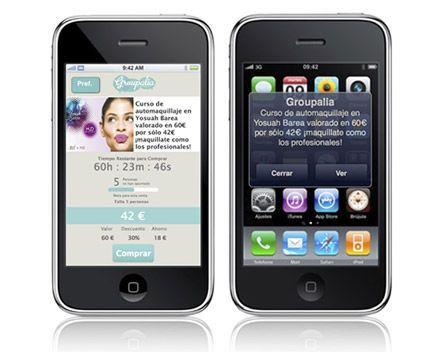 Groupalia para iPhone