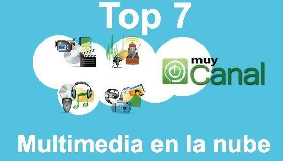 Top 7 Multimedia Nube