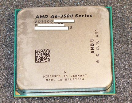 AMD Triple Core A6 3500