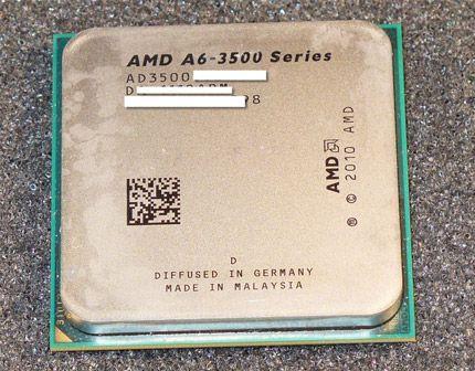 AMD Triple Core A6 3500