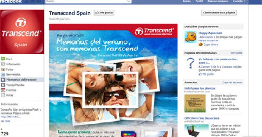 Facebook Trascend