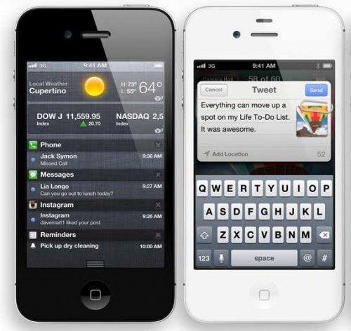 Apple lanza el iPhone 4S; habrá que esperar para el iPhone 5