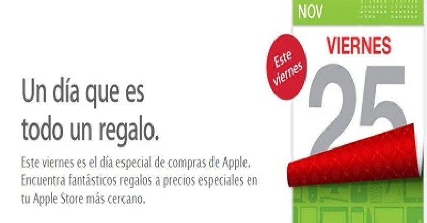 El Black Friday llegará a las Apple Store de España