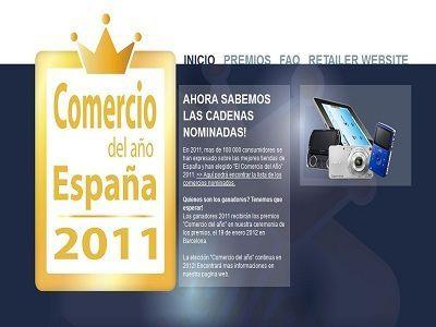 Consumidores españoles elegirán el mejor Comercio del Año 2011