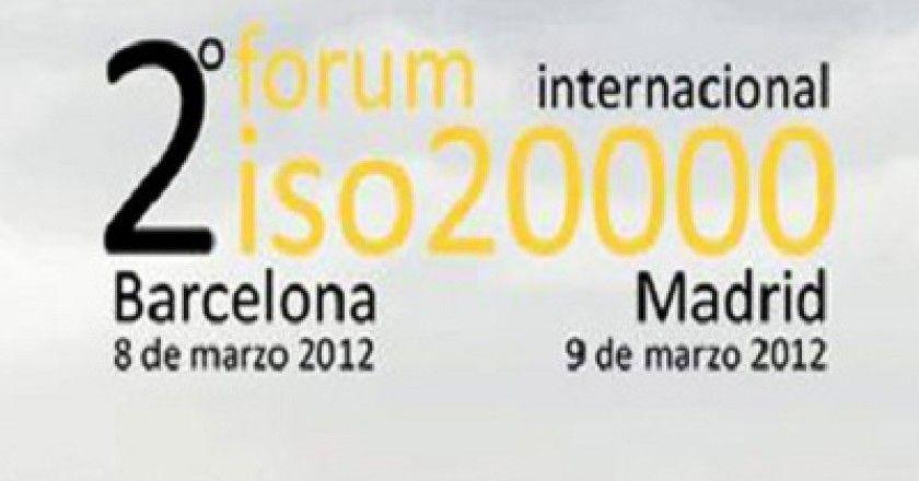 Madrid acogerá la segunda edición del Fórum Internacional ISO 20000