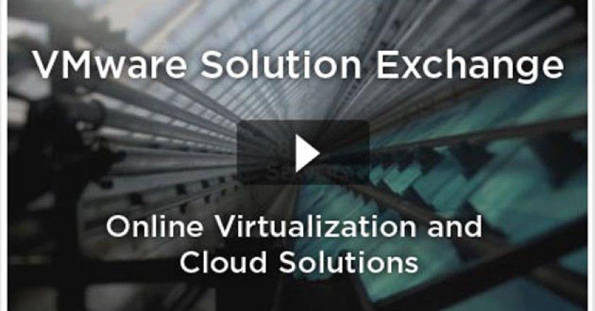 VMware-Solution-Exchange