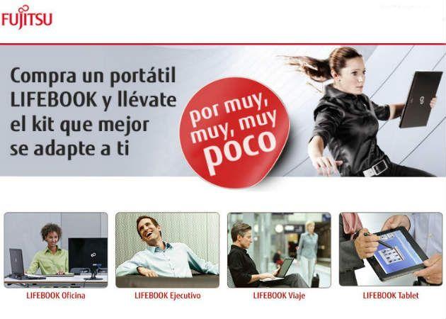 Fujitsu LIFEBOOK, un estilo para cada cliente por muy poco