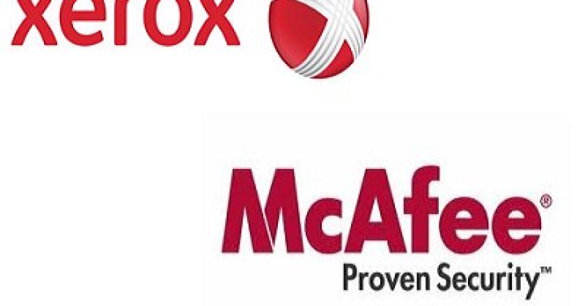 Xerox y McAfe