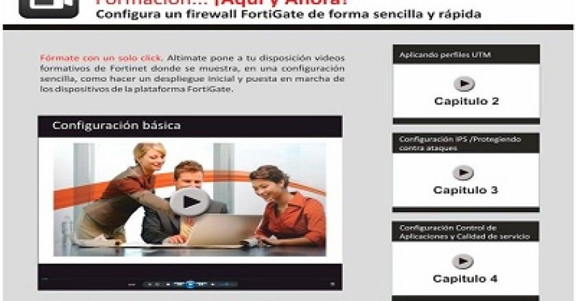 ALTIMATE apuesta por la formación multimedia