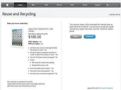 Apple crea una sección renove para facilitar la compra del nuevo iPad