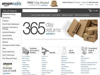 Amazon lanza AmazonSupply