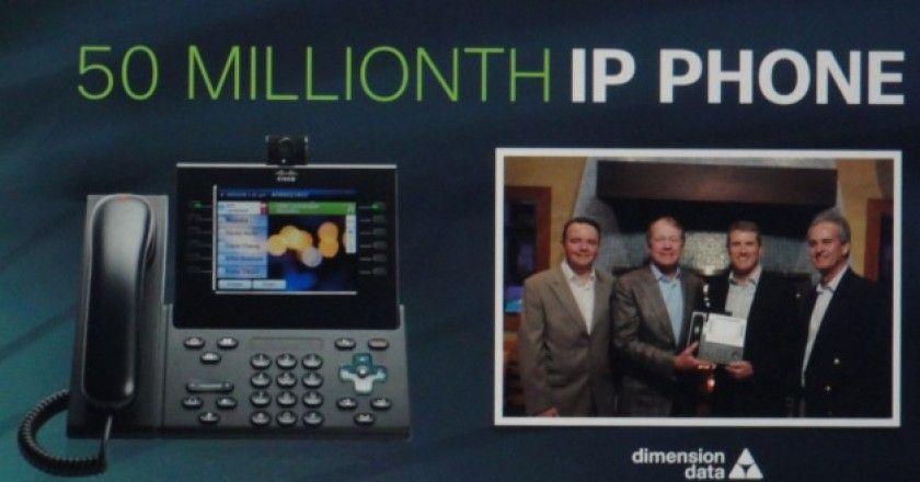 50 millones de teléfonos VoIP
