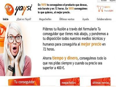 Consigue un producto al mejor precio en yaysi.com
