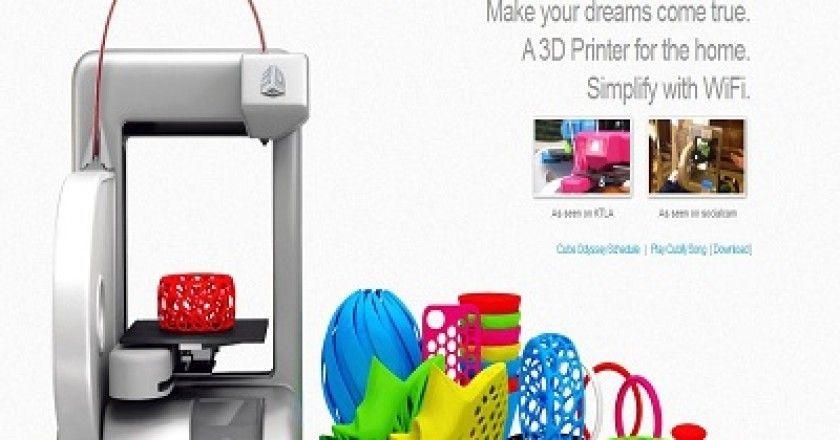 Cubify ya permite a los usuarios hacer reservas de su impresora 3D