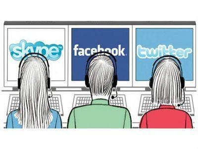 Las empresas usan redes sociales para mejorar su servicio de atención al cliente