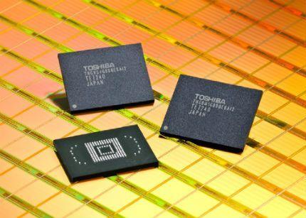 Toshiba reducirá un 30% su producción de memorias flash