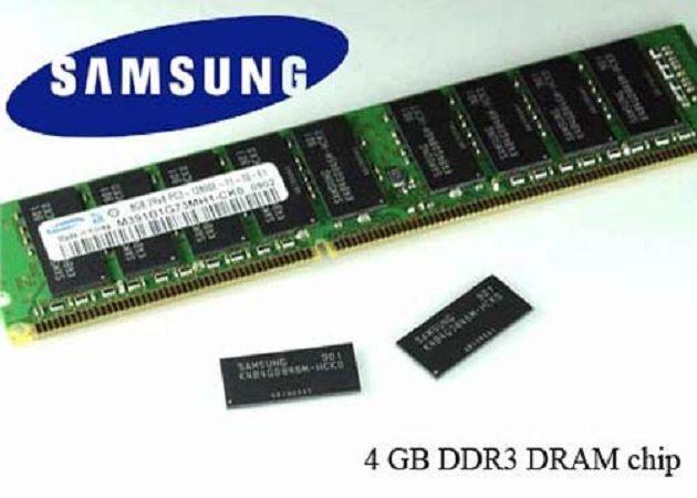 Samsung crea un nuevo chip de memoria DRAM
