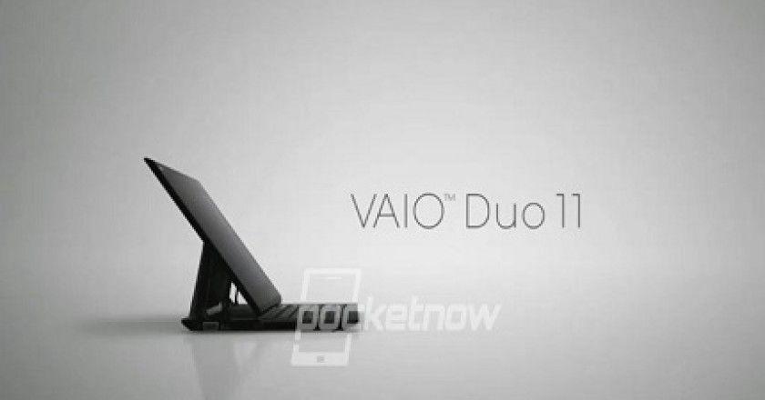 Sony apunto de presentar su nueva tablet, la Sony Vaio Duo 11