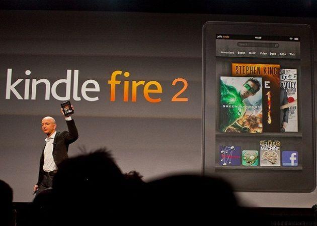 Evento Amazon el 6 de septiembre, ¿Kindle Fire 2 a la vista?