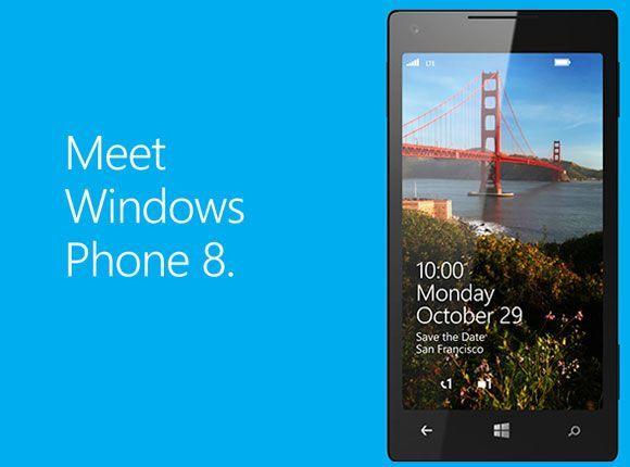 Windows Phone 8 será lanzado el 29 de octubre