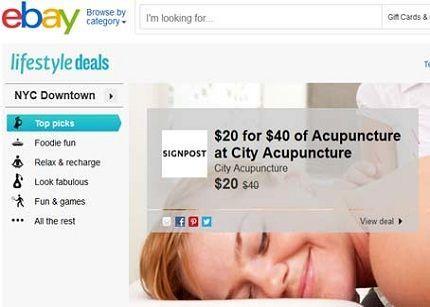 eBay entra en el mercado de los cupones de descuento