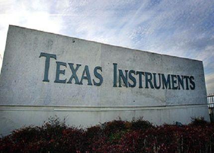 Los ingresos trimestrales de Texas Instruments descienden