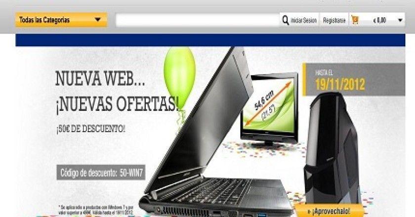 Medion lanza una nueva web más intuitiva para la compra