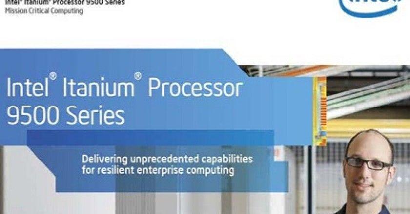 Intel y HP lanzan una nueva gama de procesadores Itanium