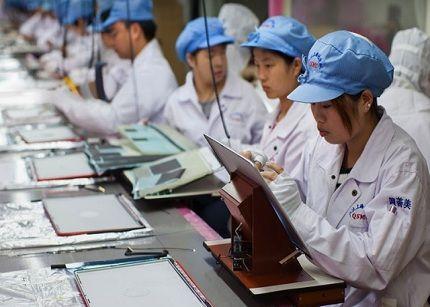 Foxconn no puede dar respuesta a la demanda del iPhone 5