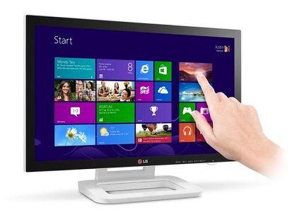 Touch 10 ET83, el nuevo monitor táctil de LG para W8