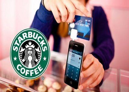 Starbucks permite el pago con móvil con Square