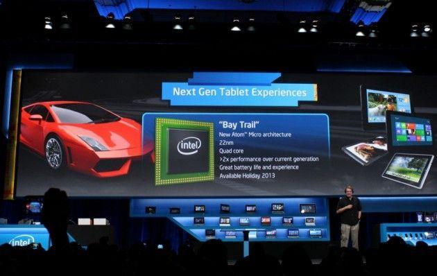 Intel BayTrail 630x398 Intel presenta nuevos chips para tablets y smartphones