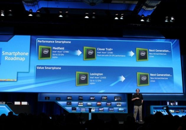 Intel CloverTrail plus 630x440 Intel presenta nuevos chips para tablets y smartphones