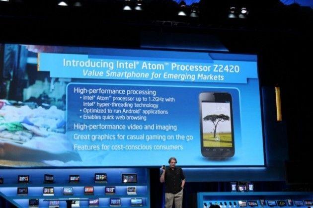 Intel Z2420 640x4261 630x419 Intel presenta nuevos chips para tablets y smartphones