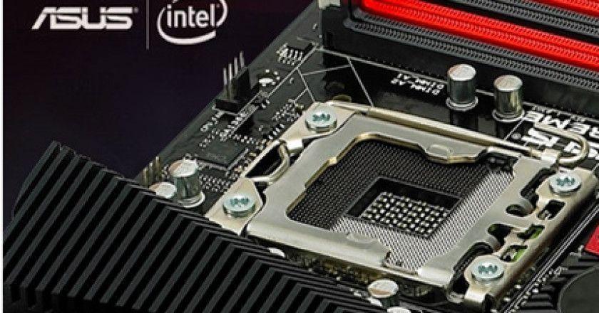 ASUS presenta placas base para procesadores Haswell
