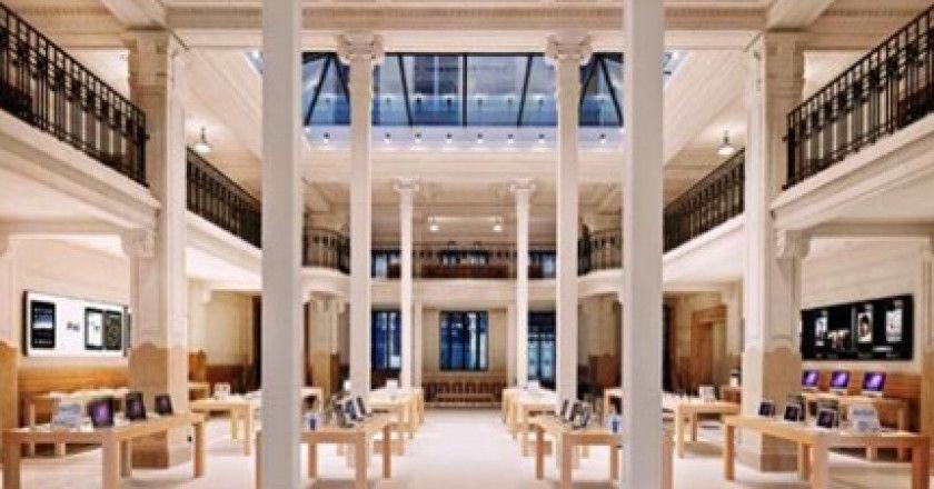 Las tiendas de Apple baten récords de rentabilidad