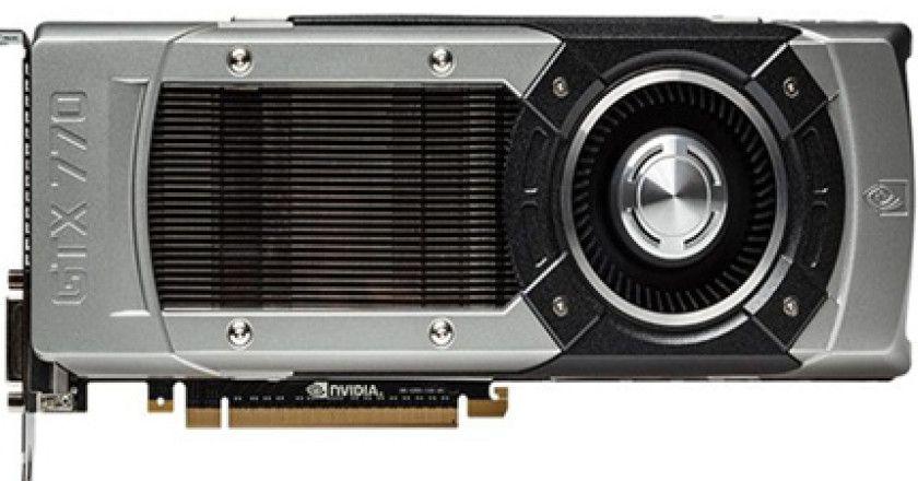NVIDIA anuncia nueva serie gráfica GTX 770