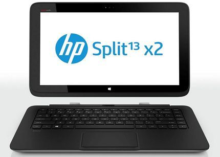 HP presenta híbrido con Windows 8 Split x2